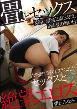 ZBES-031 - Desperation Eros Asaoka Minami Tatami And Sex Tokyo,Highest Temperature 32 Degrees,Hot Summer Day Hot Sex And Sweat Among Six Tatami Mats - Zetsubou Eros / Mousozoku