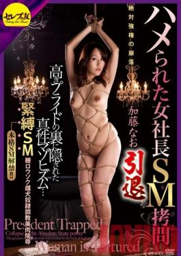 CETD-145 Studio Celeb no Tomo The Fucking And BDSM Torture Of A Female Boss. Her Absolute Power Collapses. The True Masochism Behind Her Pridefulness... S&M, Whip, Candle, Female Dog And Slave Torture. The Indignation Of Her Beautiful Flesh. Nao Kato