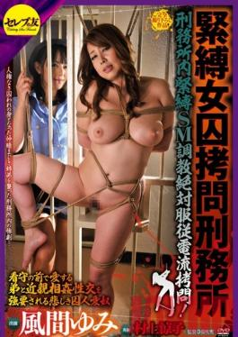 CETD-083 Studio Celeb no Tomo Bondage Correctional Facility for Women Prison S&M Discipline: Total Obedience Electric Shock Torture! Forced Fakecest Sex with Her Stepbrother In Front of the Jailer! Yumi Kazama