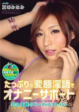 DJSK-098 Masturbation Support By Tons Of Nasty Dirty Talk, Complete POV for Realistic Experience Minami Natsuki