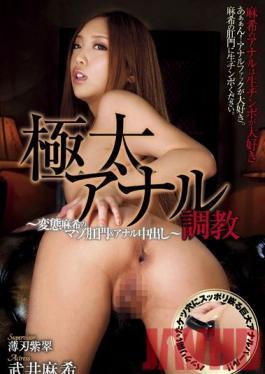 GANA-002 Studio AVS collector's Anal Breaking In  The masochistic anus of Aki & her anal creampie Maki Takei
