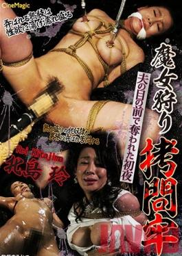 CMV-100 Studio Cinemagic A Witch Hunt The Torture Prison That First Night She Was Abducted While Her Husband Watched Rei Kitajima