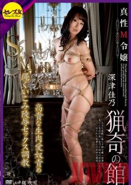 CETD-082 Studio Celeb no Tomo A Real Masochist Young Lady's Mansion Of Curiosities Breaking In A High Class Raw Love Slave With Humiliating Bondage And Torment Yoshino Fukatsu