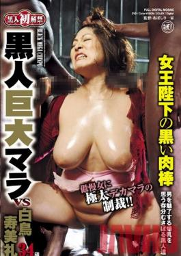 BDD-28 Studio Global Media Entertainment First Ever Unbanned Huge black Mara Sumire Shiratori 34 Years Old, Her Majesty The Queen's Black Meat Stick.
