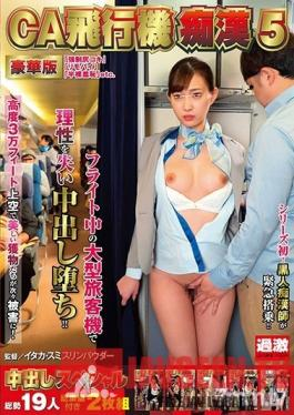 NHDTB-265 Studio NATURAL HIGH - Airplane Pervert Molests Flight Attendants 5 Luxury Version Creampie Special 2 Videos Featuring 19 Girls In Total With Highlights