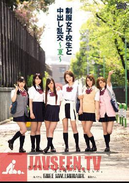 ZUKO-058 Studio Zukkon / Bakkon Creampie Orgy With Schoolgirls In Their Uniform -Summer-