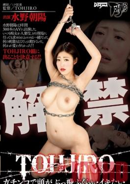DDT-527 Studio Dogma Her First TOHJIRO Title. I Want To Cum For Real Until I Lose My Mind. Asahi Mizuno