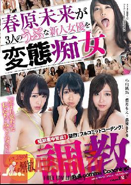 SDMU-628 Studio SOD Create Short-term Intensive Training! Full-commitment Coaching to Release Their Inner Slut! Miki Sunohara Takes 3 Fresh Face Stars and Breaks Them In