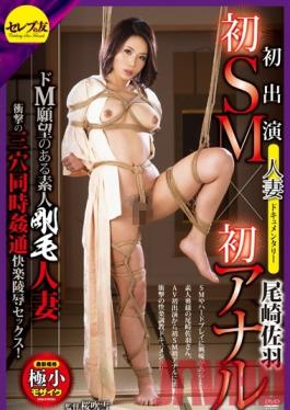 CETD-242 Studio Celeb no Tomo Her First Appearance, First S&M, And First Anal Fuck - A Married Woman's Porn Documentary - A Submissive Amateur Wife With A Hairy Pussy - Ravaged In All Three Holes While She Loves It! Sawa Ozaki