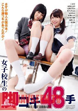 NFDM-354 Studio Freedom Job 48 Hand Leg Of School Girls