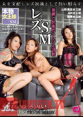 MGMC-028 Studio MEGAMI Lesbian Sadomasochism Pain And Pleasure Triple Breaking In