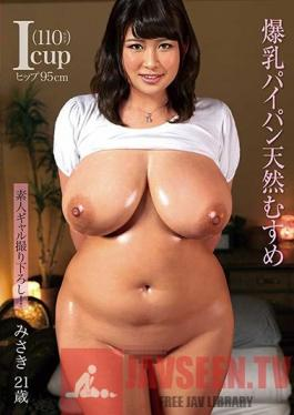 MOT-242 Studio Mother Exclusive Amateur Gal Babes! A Colossal Tits Shaved Pussy Nature Airhead Girl Misaki, Age 21, I Cup Tits(110cm), 95cm Hips Misaki Hinata