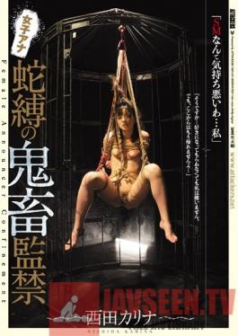 JBD-219 Studio Attackers Rough Sex Confinement With A Female Anchor Karina Nishida