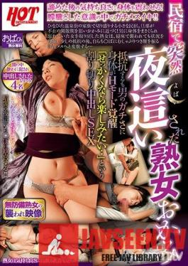 HEZ-153 Studio Hot Entertainment - This Mature Woman Madam Of A Hot Spring Resort Inn Received A Sudden Night Visit She Tried To Resist, But When He Started Fondling Her Body, Her Sensual Instincts Began To Awaken Well, I May As Well Enjoy Myself