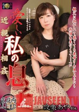 DSE-1211 Incest. My Beloved Son Aya Shitara