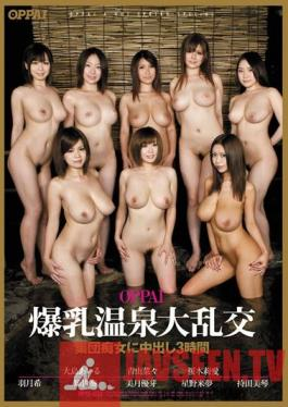 PPSD-038 OPPAI Colossal Tits Hot Spring Large Orgies: Group of Sluts Get Creampied - 3 Hours