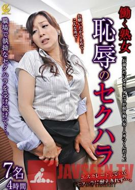 YLWN-129 Working Mature Women - Shameful Sexual Harassment - 4 Hours