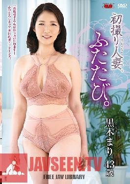 JURA-030 First Time Shots Married Woman, Again. Mari Kuroki