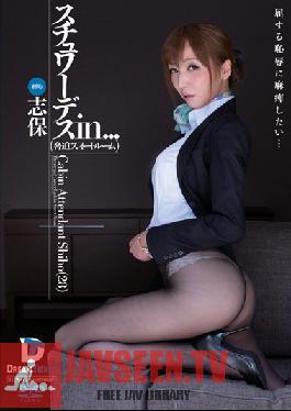 VDD-075 Stewardess in... Threatening Sweet Room Cabin Attendant Shiho 28
