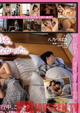 SDMF-011 My Stepsister Is Getting Married Soon, This Is My Last Chance To Slurp On Her Titties - Fruity Families - Tsubasa Hachino