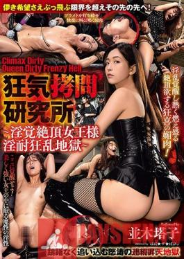 GMEM-024 The Insane Shame Research Center Climax Dirty Queen Dirty Frenzy Hell A Lusty Horny Queen Withstands Insane Orgasmic Hell Toko Namiki