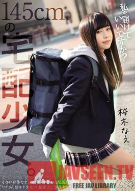 MUDR-148 Young 145cm Tall Girl Delivered To Your Doorstep Are You Okay With Me? Nae Sakuragi